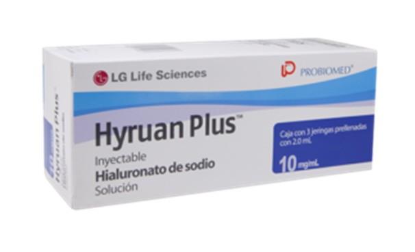 HYRUAN PLUS 1% / 10MG 3JER